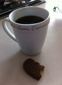 Coffee and PB are second only to wine and PB.