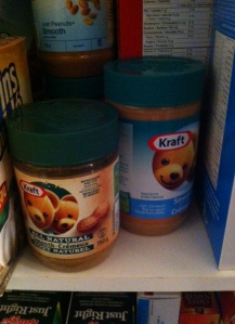 You are in luck, natural AND processed peanut butter were on sale.